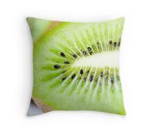 Kiwi Guts Throw Pillow