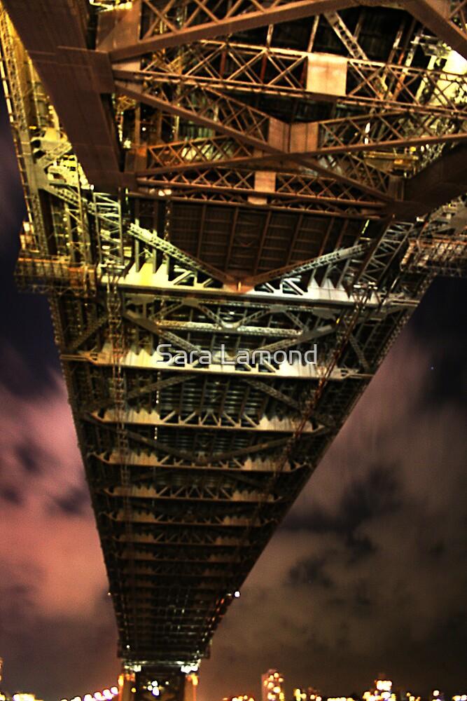 Bridge from below by Sara Lamond