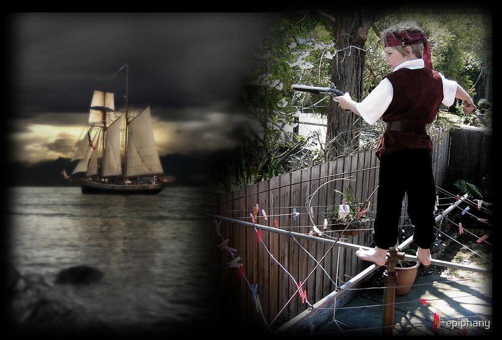 back yard pirate by epiphany