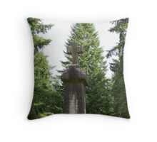 gravestone Throw Pillow