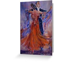 Ballroom Dancing – Dance Gallery 33 Greeting Card
