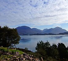 View from Applecross Road by Rois Bheinn Art and Design