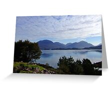 View from Applecross Road Greeting Card