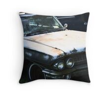 Old Caddie Throw Pillow