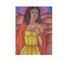 Hera - Queen of the Gods Art Print