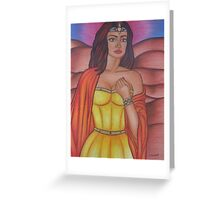 Hera - Queen of the Gods Greeting Card