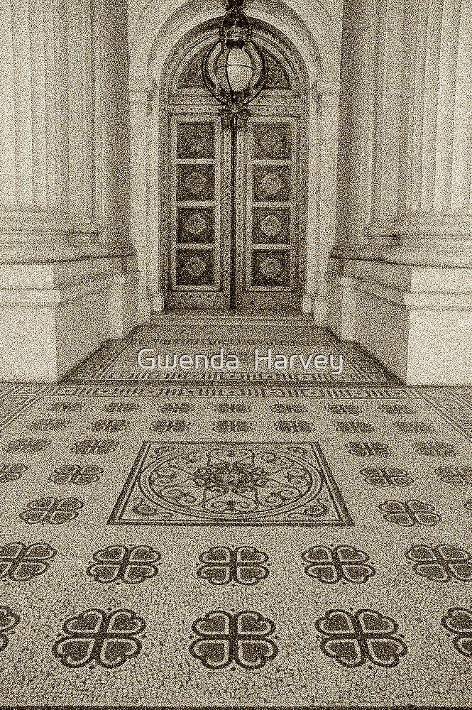 Door & Steps  by Gwenda  Harvey