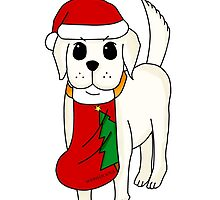 Santa Doggy by sherillicious