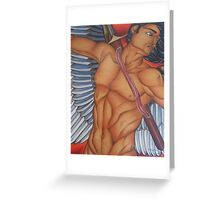Michael - The Battle Angel Greeting Card