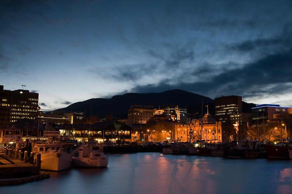 Hobart By Night by Chris Putnam