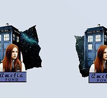 Amy Pond Doctor Who Mug  by MinervaMcgranit