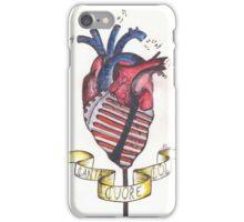 Canta col cuore. iPhone Case/Skin