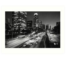 110 Freeway Art Print