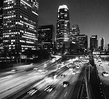 110 Freeway by Robert Larson