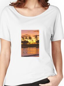 Sunset on Ohua Women's Relaxed Fit T-Shirt