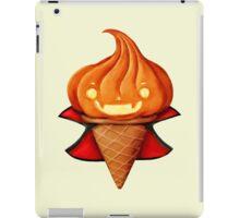 Vampire Pumpkin Halloween Ice Cream iPad Case/Skin