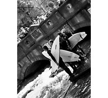 city surfers 2 Photographic Print