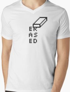 The Tooled Up Series: Erased Mens V-Neck T-Shirt