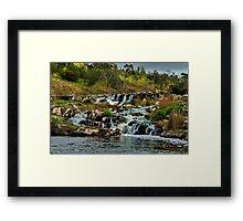 """""""Buckley's Falls"""" Framed Print"""