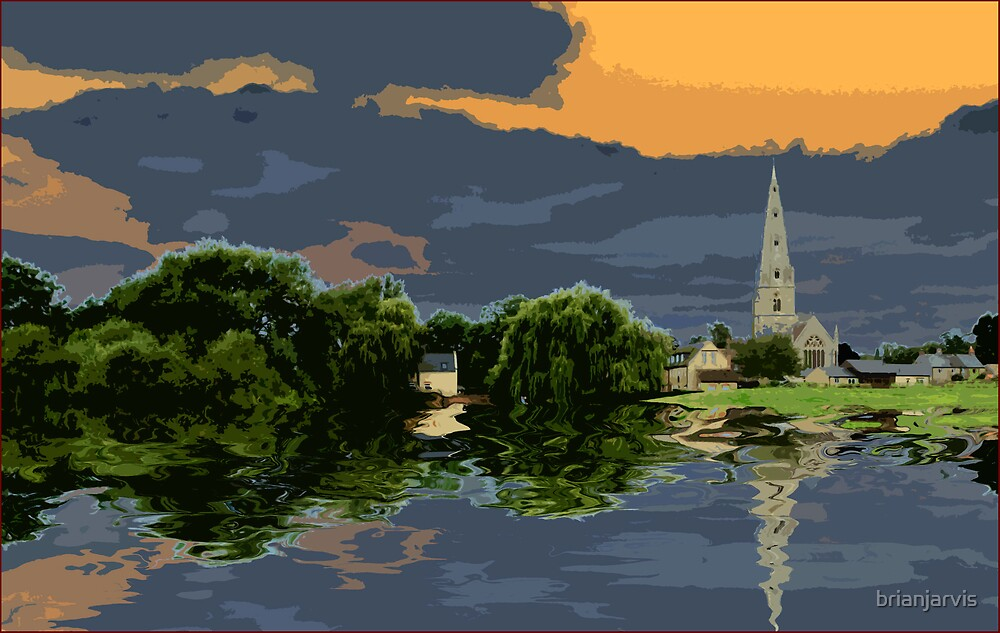 Olney Church - Modified. by brianjarvis