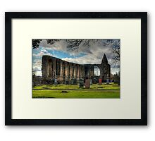 Refectory and Gatehouse Framed Print