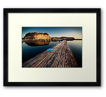 Old Planks of North Narrabeen Framed Print