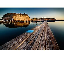 Old Planks of North Narrabeen Photographic Print
