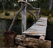 Rustic Bridge by Scott Beattie