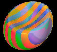 Funky beach ball by pelmof