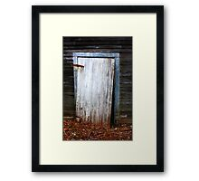 The Crooked Door Framed Print