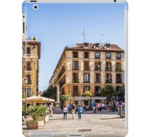 Ramales Square in Madrid iPad Case/Skin