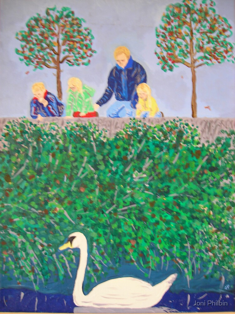 Family swan by Joni Philbin