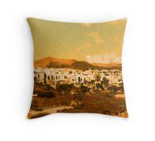Lanzarote Landscape Throw Pillow