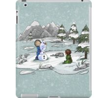 A chance to change my lonely world iPad Case/Skin