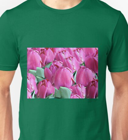 A Bed of Tulips Unisex T-Shirt