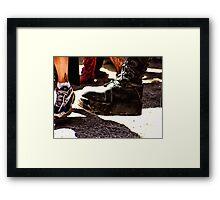 STOMP'N ON THE DANCEFLOOR Framed Print
