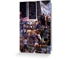 Trafalgar Democrats (1) Greeting Card