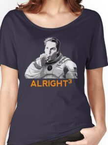 Alright Cubed Women's Relaxed Fit T-Shirt