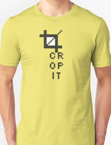The Tooled Up Series: Crop It T-Shirt