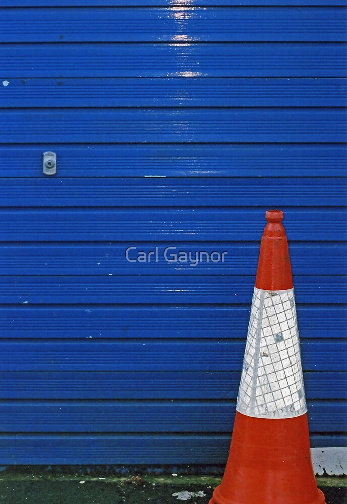 Traffic Cone  by Carl Gaynor