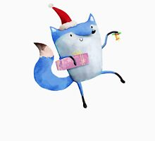 Christmas Polar Fox Unisex T-Shirt