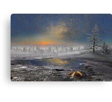 Ice Glitter 2 Canvas Print