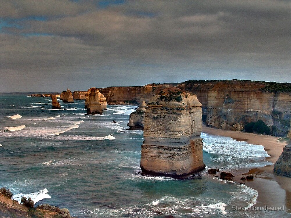 The Twelve Apostles by Steve Dowdeswell