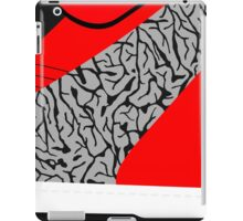 Made in China SB x Superme Red/Cement - Pop Art, Sneaker Art, Minimal iPad Case/Skin