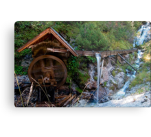 The Crooked Little Mill Metal Print