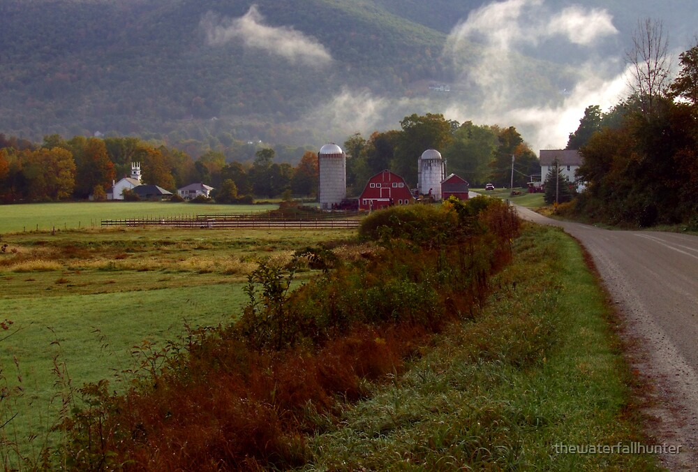 Arlington Vermont Farm by thewaterfallhunter