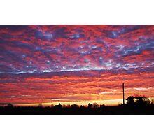 Hallow sunrise Photographic Print