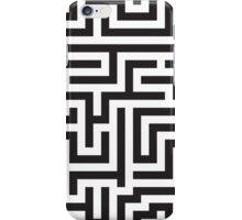 Maze Pattern iPhone Case/Skin