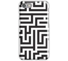 Maze Pattern iPhone Case/Skin