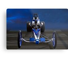 Nostalgia Top Fuel Dragster 1 Metal Print